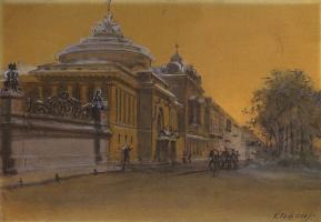 Карл Эдуардович Гефтлер. Здание Панаевского театра в Санкт-Петербурге