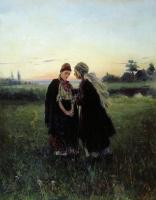 Владимир Егорович Маковский. Мать и дочь