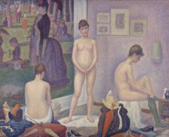 Georges Seurat. A model