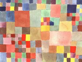 Paul Klee. Flora on the sand