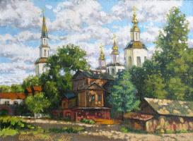 Александр Николаевич Безродных. Великий Устюг.Вечер