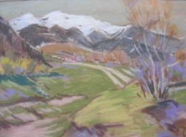 Yosif Josifovich Garani. Early winter