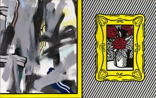 Рой Лихтенштейн. Картины с розами