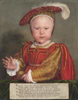 Ганс Гольбейн Младший. Портрет Эдуарда VI в детстве