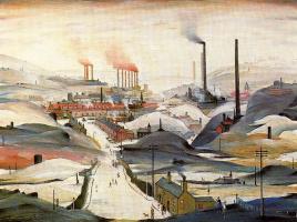 Лоуренс Стивен Лоури. Промышленная панорама
