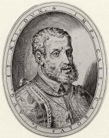 Антонио Кампи. Портрет императора Карла V