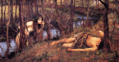 John William Waterhouse. The Naiad (Hylas and the nymph)