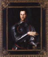 Аньоло Бронзино. Герцог Козимо I де Медичи в доспехах