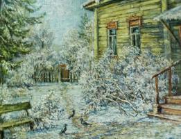 Виктор Владимирович Курьянов. Холодное солнце зимы