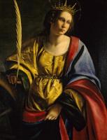 Артемизия Джентилески. Святая Екатерина Александрийская