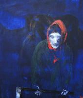 Nikolai margin. Portrait of mother in law