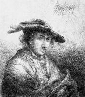 Фердинанд Балтасарс Боль. Портрет мужчины в берете