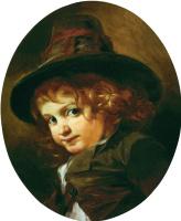 Иван Кузьмич Макаров. Голова мальчика-итальянца. 1853-1855