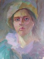 Виолетта Водяная. Юная художница