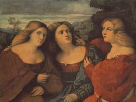 Джакомо Пальма Старший. Три сестра