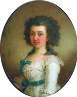 Владимир Лукич Боровиковский. Портрет Елизаветы Марковны Олениной. 1791