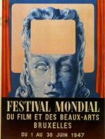 Рене Магритт. Плакат Международного фестиваля кино и изящных искусств в Брюсселе