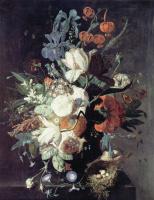 Ян ван Хейсум. Белые цветы