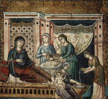 Пьетро Каваллини. Рождение Марии