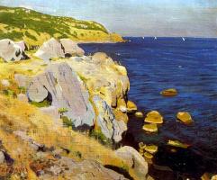 Аркадий Александрович Рылов. Скалы в Кекенеизе