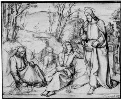 Юлиус Шнорр фон Карольсфельд. Христос в Гефсимании