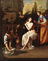 Артемизия Джентилески. Купание Вирсавии