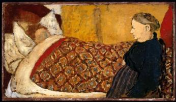Jean Edouard Vuillard. Lullaby