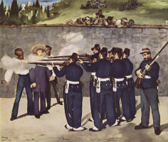 The execution of Emperor Maximilian I