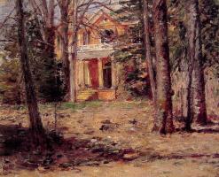 Теодор Робинсон. Дом в Вирджинии