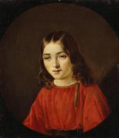 Карл Иванович Лаш. Портрет младшего сына Германа