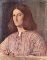 Джорджоне. Портрет молодого человека