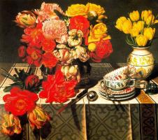Стоун Робертс. Желтые тюльпаны