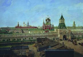 Петр Иванович Моисеев. Ильинские ворота в Москве