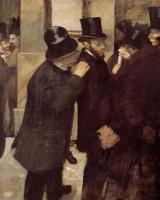 Эдгар Дега. Портреты. Фондовая биржа