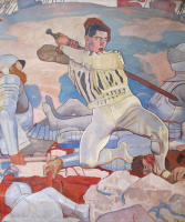 Фердинанд Ходлер. Солдат с мечом