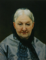 Николай Васильевич Неврев. Портрет А. П. Елагиной.  1870-е