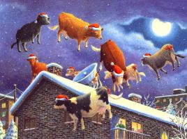Даниэль Лейн. Рождественские коровы 4