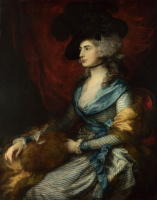 Portrait of actress Sarah Siddons