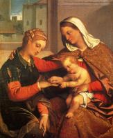 Джованни Баттиста Морони. Мистическое обручение Святой Екатерины