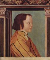 Амброзиус Гольбейн. Портрет темноволосого мальчика