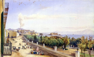 Giacinto Jigante. View of the Riviera di Kiaya
