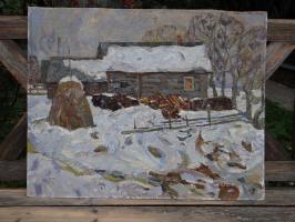 Александр Григорьевич Савичев. Весна в Почвине