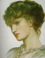 Данте Габриэль Россетти. Женский портрет