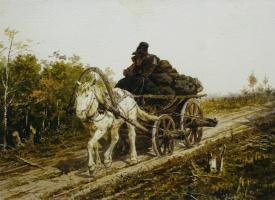Петр Петрович Соколов. Угольщик. 1868