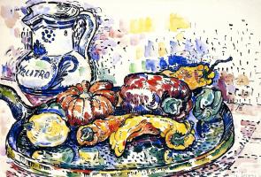 Paul Signac. Still life with jug