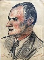 Давид Давидович Бурлюк. Актер
