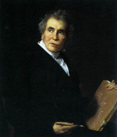 Jerome Martin Langlois. Portrait Of Jacques-Louis David