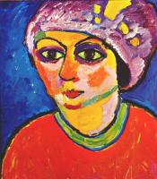 Alexey Georgievich Yavlensky. Purple turban