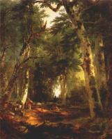 Ашер Браун Дюран. В лесу