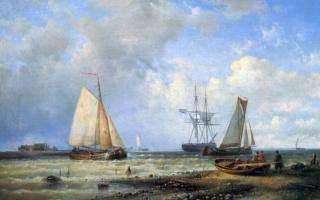 Шарль-Луи Бонье. Рыболовные судна